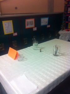 Middle Table & Experiment